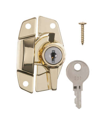 Ace  Brass  Keyed Sash Lock  1 pk