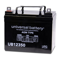 Universal Power Group  UB12350  35 CCA Lead Acid Automotive Battery