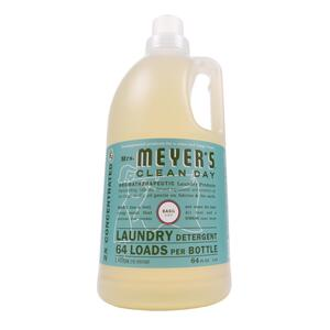 Mrs. Meyer's  Clean Day  Basil Scent Laundry Detergent  Liquid  64 oz. 1 pk
