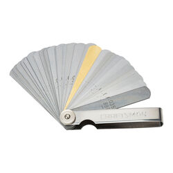 Craftsman 6.89 in. L 32-Blade Feeler Gauge Silver 1 pc.