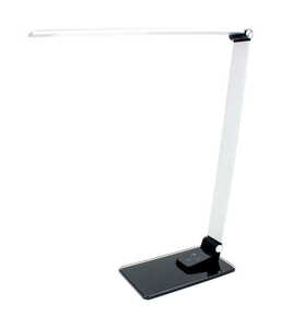 Newhouse  16 in. Semi-Gloss  Gray  Desk Lamp