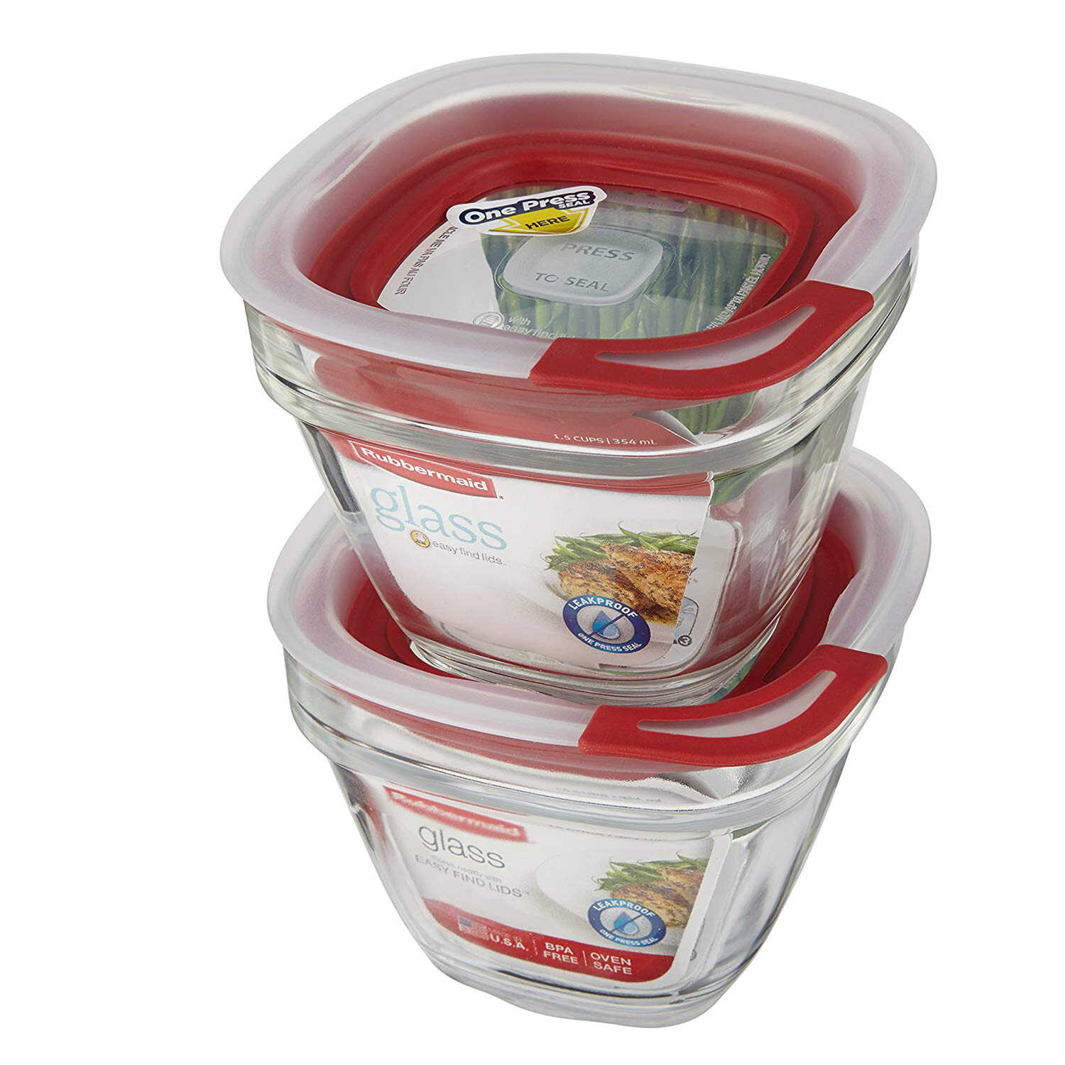 Rubbermaid  1.5 cups Food Storage Container