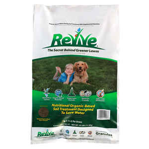 Revive  Organic Lawn Fertilizer  For All Grass Types 25 lb. 5000 sq. ft.