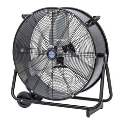 KOOL-FLO 29.9 in. H x 24 in. Dia. 2 speed Electric Drum Fan