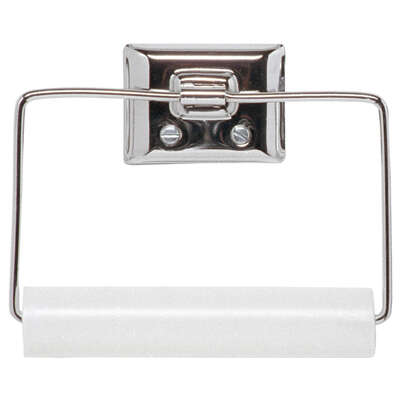 Decko Chrome Silver Toilet Paper Holder