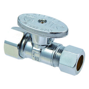 Ace  Compression   Compression  Brass  Straight Stop Valve