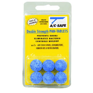 AC Safe  Air Conditioner Pan Cleaner Tablets  0 gal. Tablets