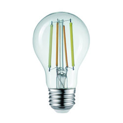 Globe Electric  Wi-Fi Smart Home  A19  E26 (Medium)  Filament LED Bulb  Tunable White  60 Watt Equiv