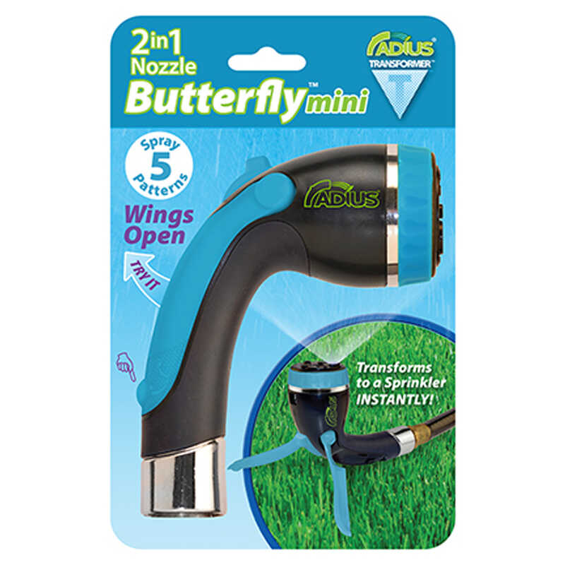 Radius  5 pattern Metal  Butterfly Nozzle