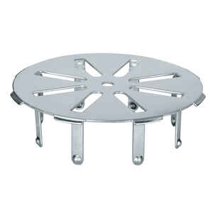 Sioux Chief  Gripper  4 in. Chrome  Stainless Steel  Round  4 in. Floor Drain Cover