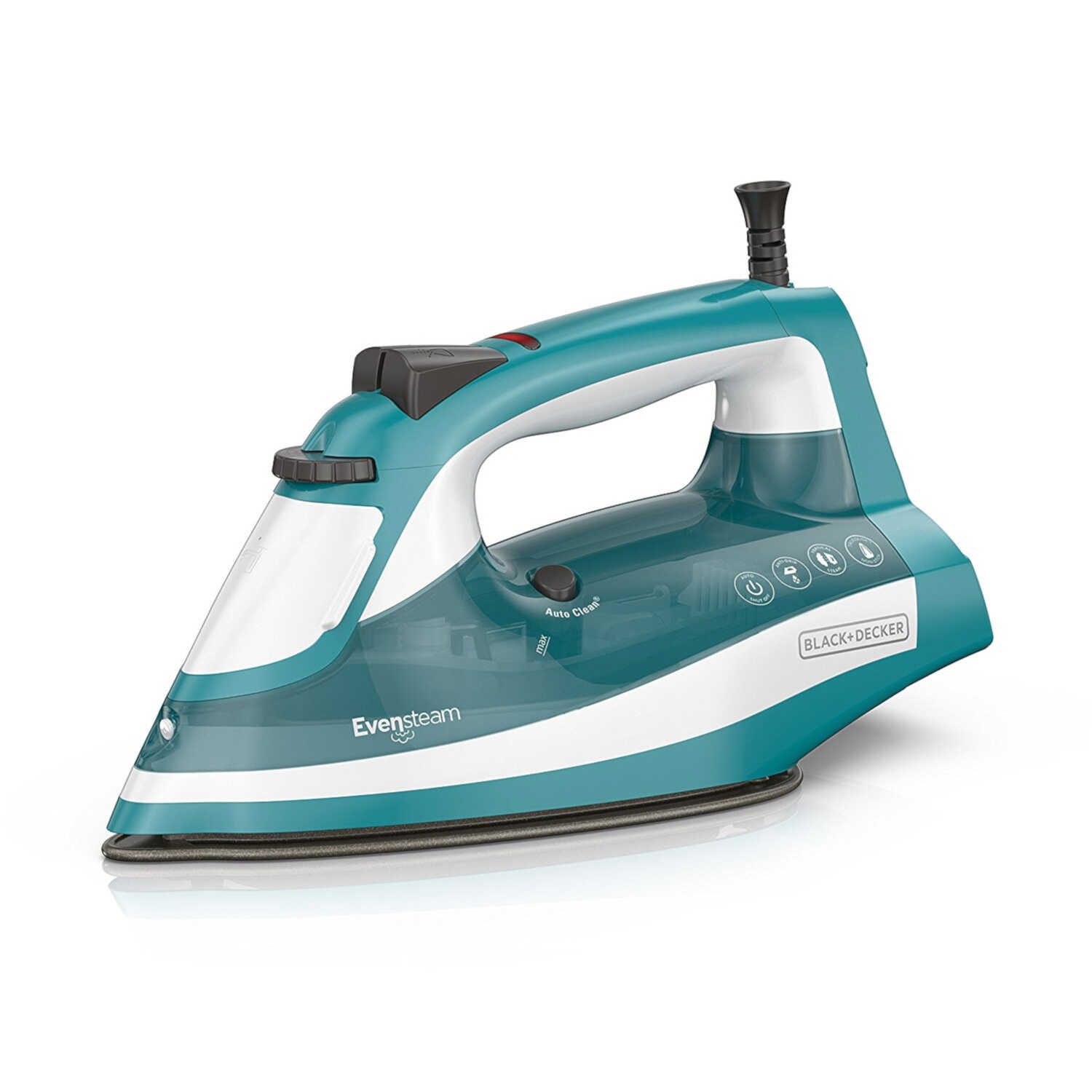 Black+Decker  Xpress Steam TrueGlide  10.82 oz. Steam Iron