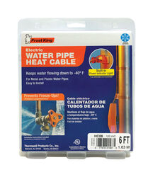 Frost King  Thermwell Products  6 ft. L Heating Cable  For Roof and Gutter/Water Pipe