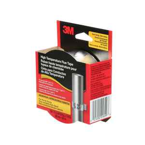 3M  1.5 in. W x 5 yd. L Silver  Flue Tape