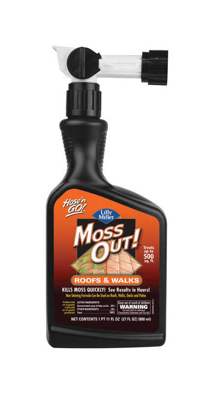 Lilly Miller  Moss Out  Concentrate  Moss Killer  27 oz.