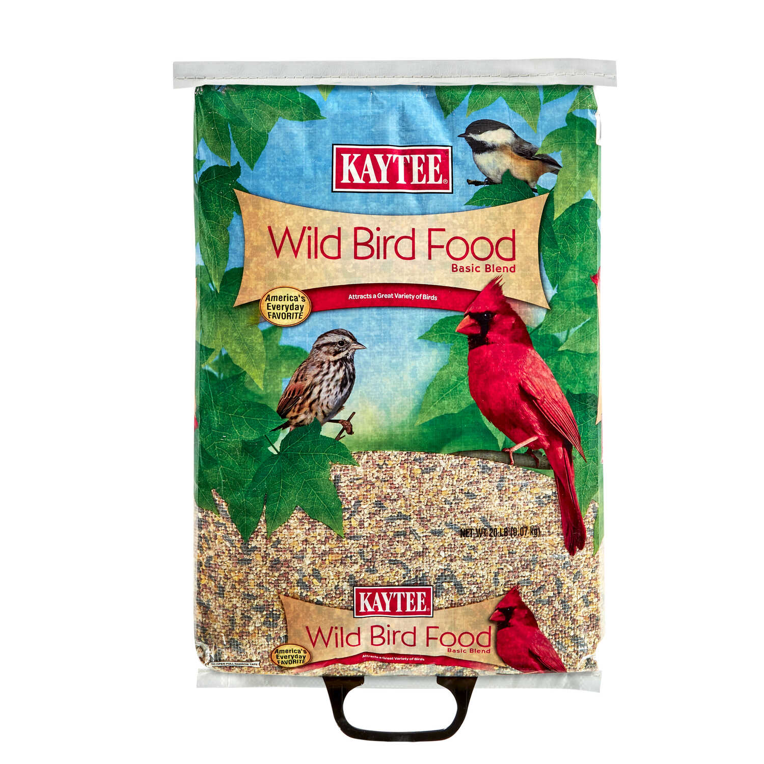 Kaytee  Assorted Species  Wild Bird Food  Millet and Milo  20 lb.