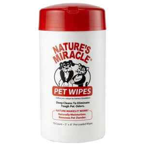 Nature's Miracle  For Cat/Dog White  Wipes  70