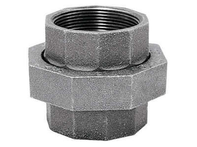 BK Products 2 in. FPT x 2 in. Dia. FPT Galvanized Malleable Iron Union