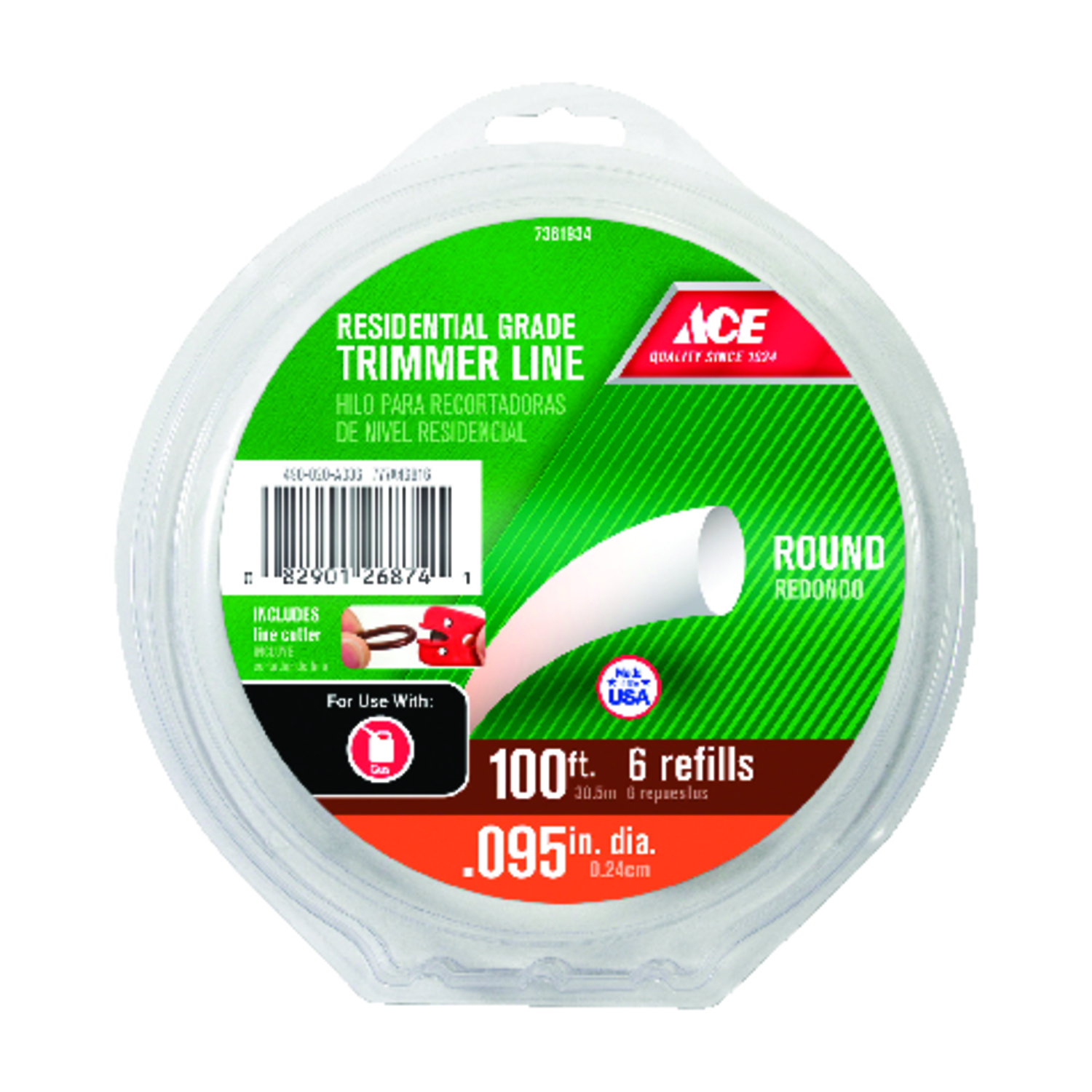 Ace  Residential Grade  Trimmer Line