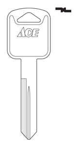 Ace  Automotive  Key Blank  Double sided For Ford