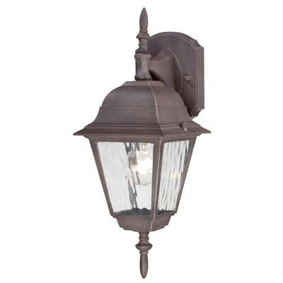 Westinghouse  Patina  Incandescent  Wall Lantern