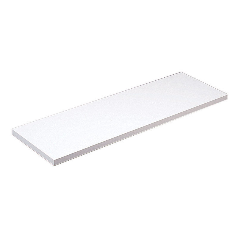 Knape & Vogt  8 in. H x 48 in. D x 8 in. W White  Shelf Board  Melatex Laminate/Particle Board