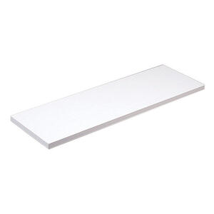 Knape & Vogt  8 in. H x 8 in. W x 48 in. D White  Melatex Laminate/Particle Board  Shelf