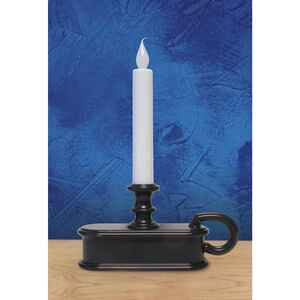 Celebrations  No Scent Aged Brown  Auto Sensor  Candle  9 in. H