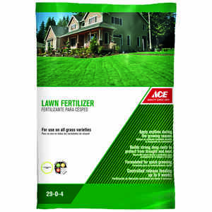 Ace  29-0-4  Lawn Fertilizer  For All Grass Types 14 lb. 5000 sq. ft.