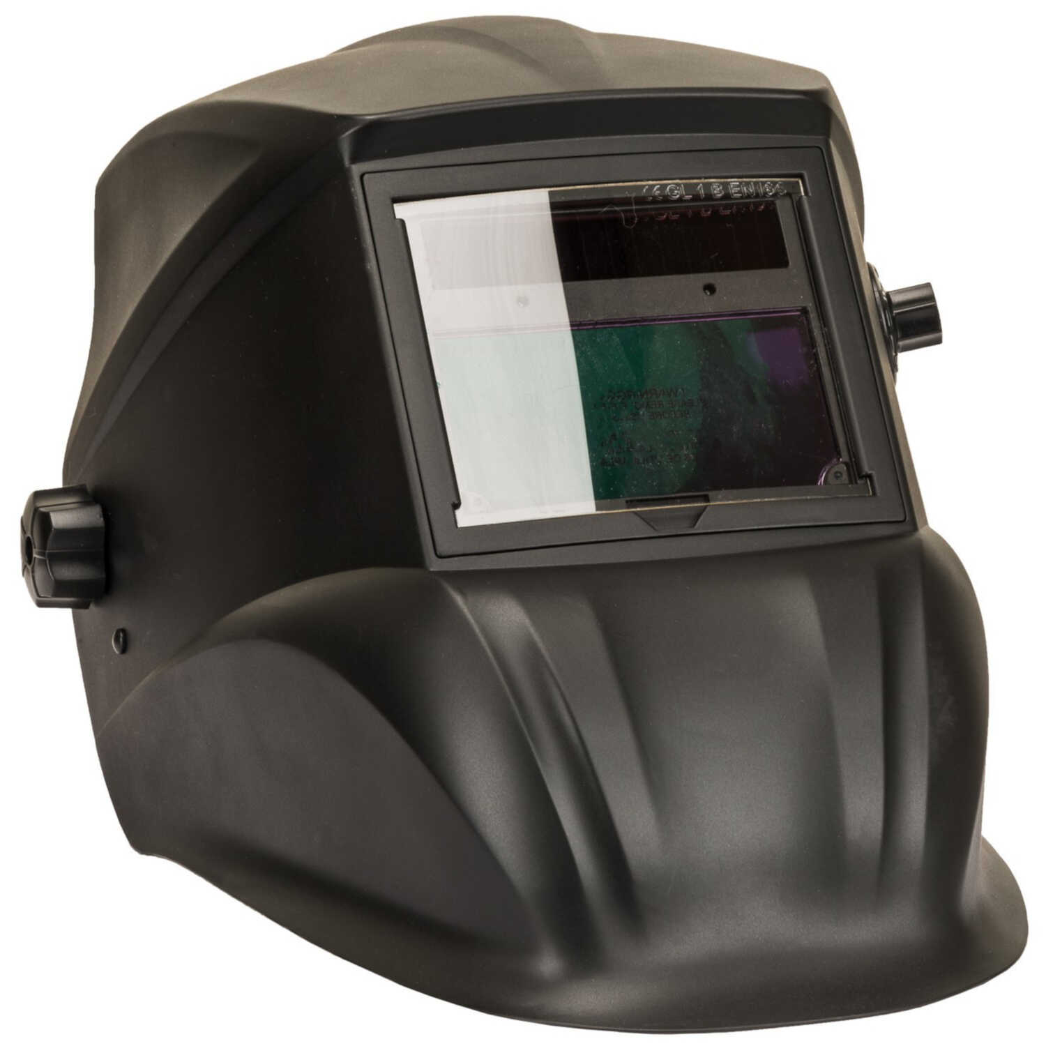 Forney  2 in. H x 3.9 in. W Variable Shade  Nylon  Welding Helmet  13 Shade Number 1.29 lb. Black  1