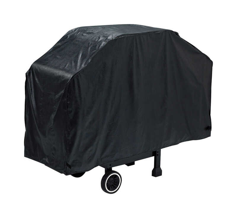 Grillmark  Black  Grill Cover  56 in. W x 21 in. D x 40 in. H For Many gas barbecue grills