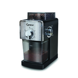 Capresso  Black  Plastic/Steel  8 oz. Coffee Grinder