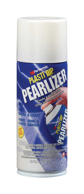 Plasti Dip  Pearlizer  Satin  White Pearl  Multi-Purpose Rubber Coating  11 oz oz.