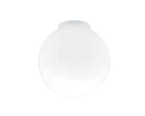 Westinghouse  Globe  White  Glass  Lamp Shade  6 pk