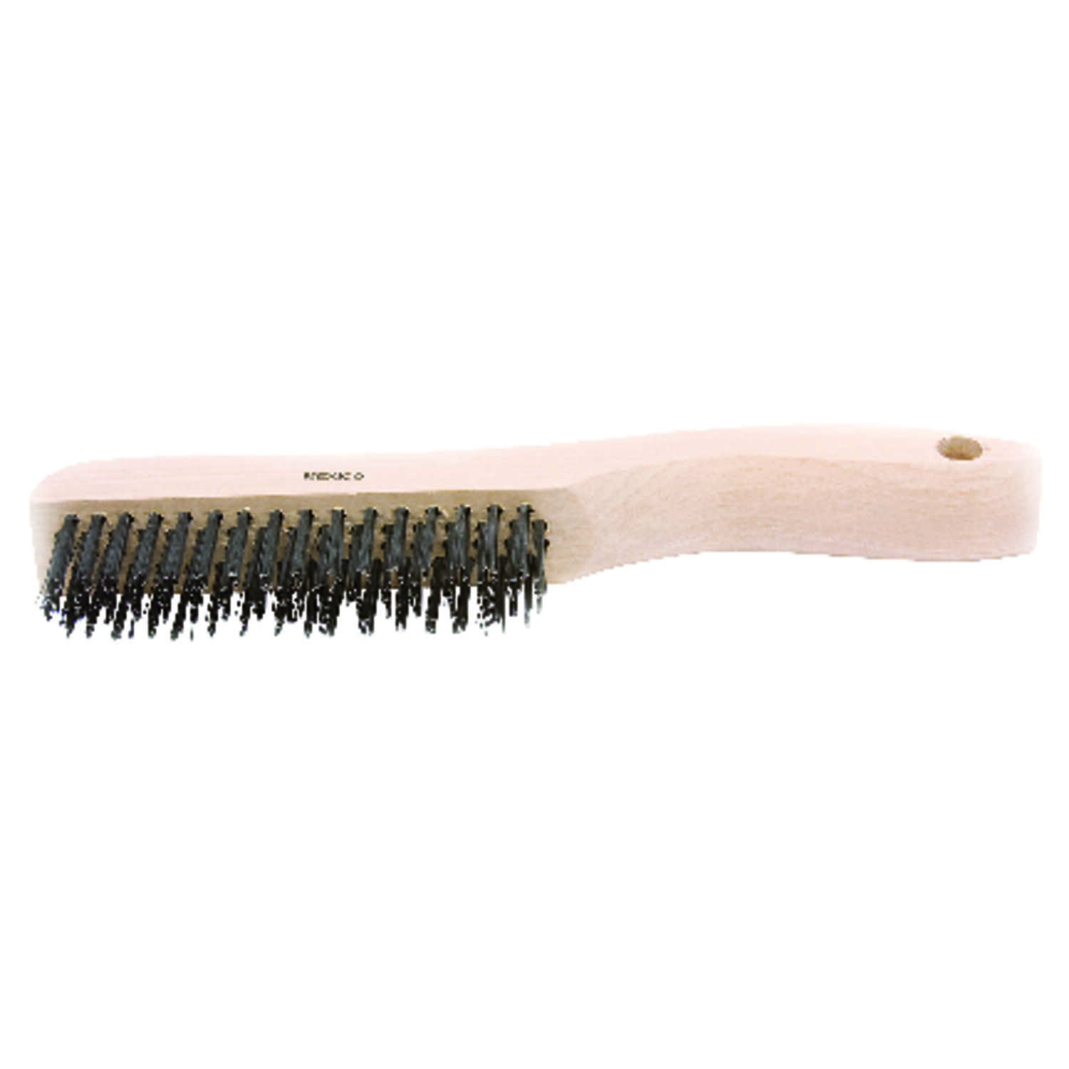Forney  10-1/4 in. L x 2 in. W Wood  1 pc. Scratch Brush