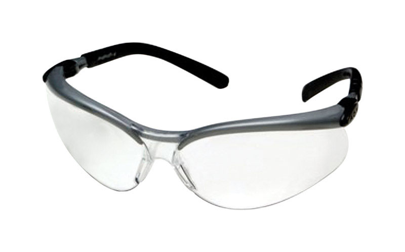 3M  BX  Anti-Fog Safety Glasses  Clear  Black/Gray Frame 1