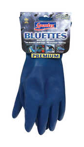 Spontex  Neoprene  Gloves  L  1 pk Blue