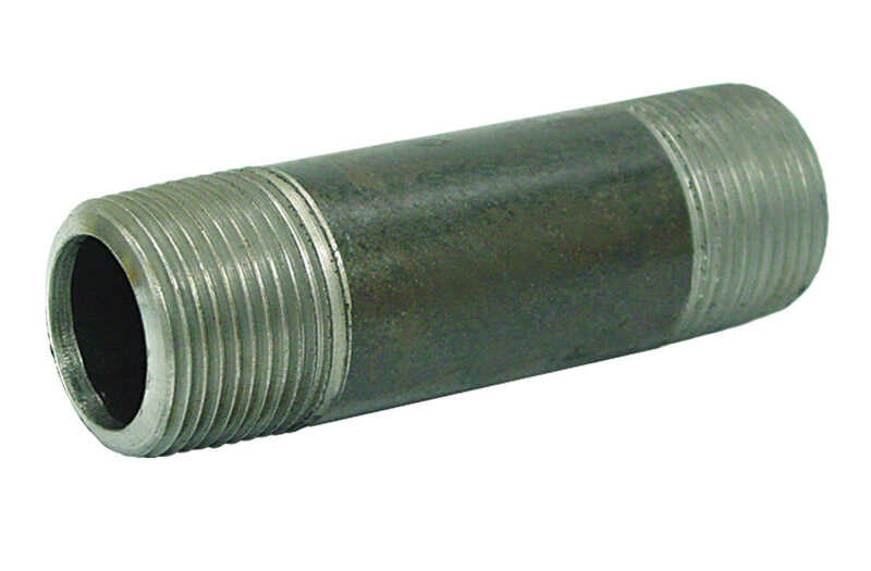Ace  1-1/2 in. MPT   x 1-1/2 in. Dia. x 5-1/2 in. L MPT  Galvanized  Steel  Pipe Nipple