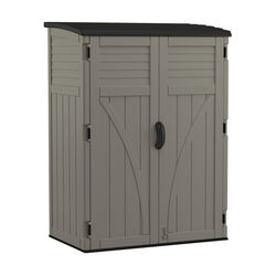 Suncast  6  H x 4.4  W x 2.7  D Gray  Resin  Storage Shed
