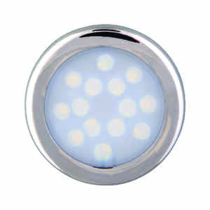 Amerelle  Silver  Plug-In  LED  Puck Light  3 pk