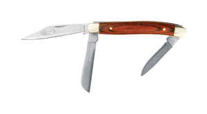 Wilmar  Northwest Trail  Brown  Stainless Steel  5-3/4 in. Folding Knife
