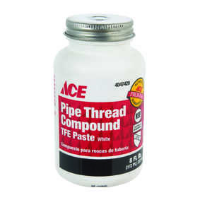 Ace  White  Pipe Thread Compound  8 oz.