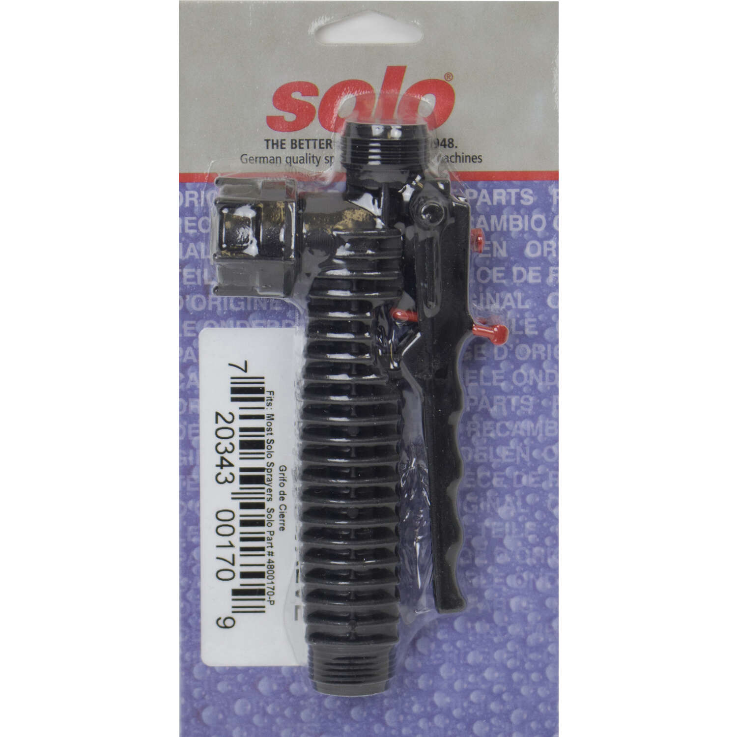 Solo  Sprayer Shut-Off Valve