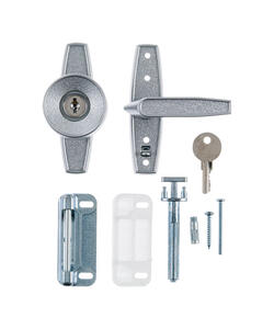 Ace  Aluminum  Keyed Universal Knob Latch  1 pk