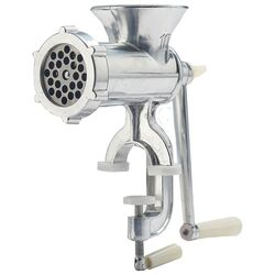 LEM Brushed Silver Meat Grinder