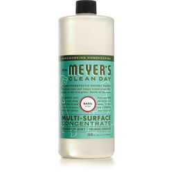 Mrs. Meyer's  Basil Scent Concentrated Organic Multi-Surface Cleaner, Protector and Deodorizer  Liqu