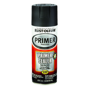 Rust-Oleum  Stops Rust  Gray  Automotive Primer Sealer Spray  12 oz.