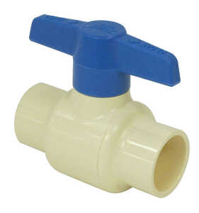 Spears  Ball Valve  3/4 in. Dia. x Slip   x 3/4 in. Dia. Slip  CPVC  Ball