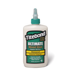Titebond  III Ultimate  Tan  Wood Glue  8 oz.