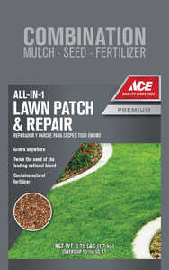 Ace  Lawn Repair  Mixed  Seed, Mulch & Fertilizer  3.75 lb.