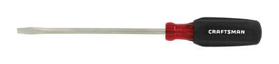 Craftsman  3/16 in.  x 6 in. L Slotted  Screwdriver  1 pc.
